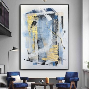 Contemporary Original Handmade Modern Paints For Wall Art Abstract Wall Art Cuadros Oil Painting On Canvas