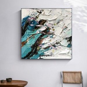 Oil Painting Canvas New Design Home Study Decoration Picture Handmade Abstract Painting Canvas
