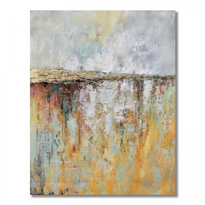 Other Painting Hand Painted Abstract Portrait Oil Canvas Abstract Wall For sale